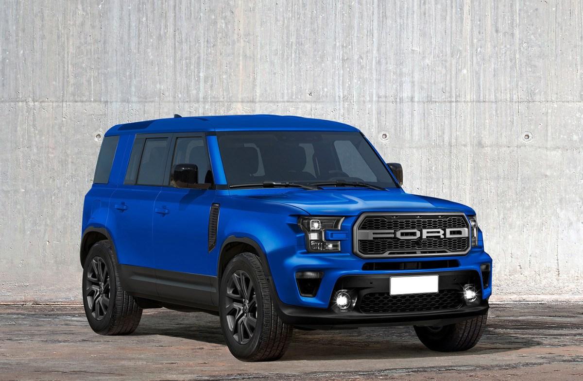 Estos renders nos presentan el Ford Bronco que no llegaremos a ver en la calle
