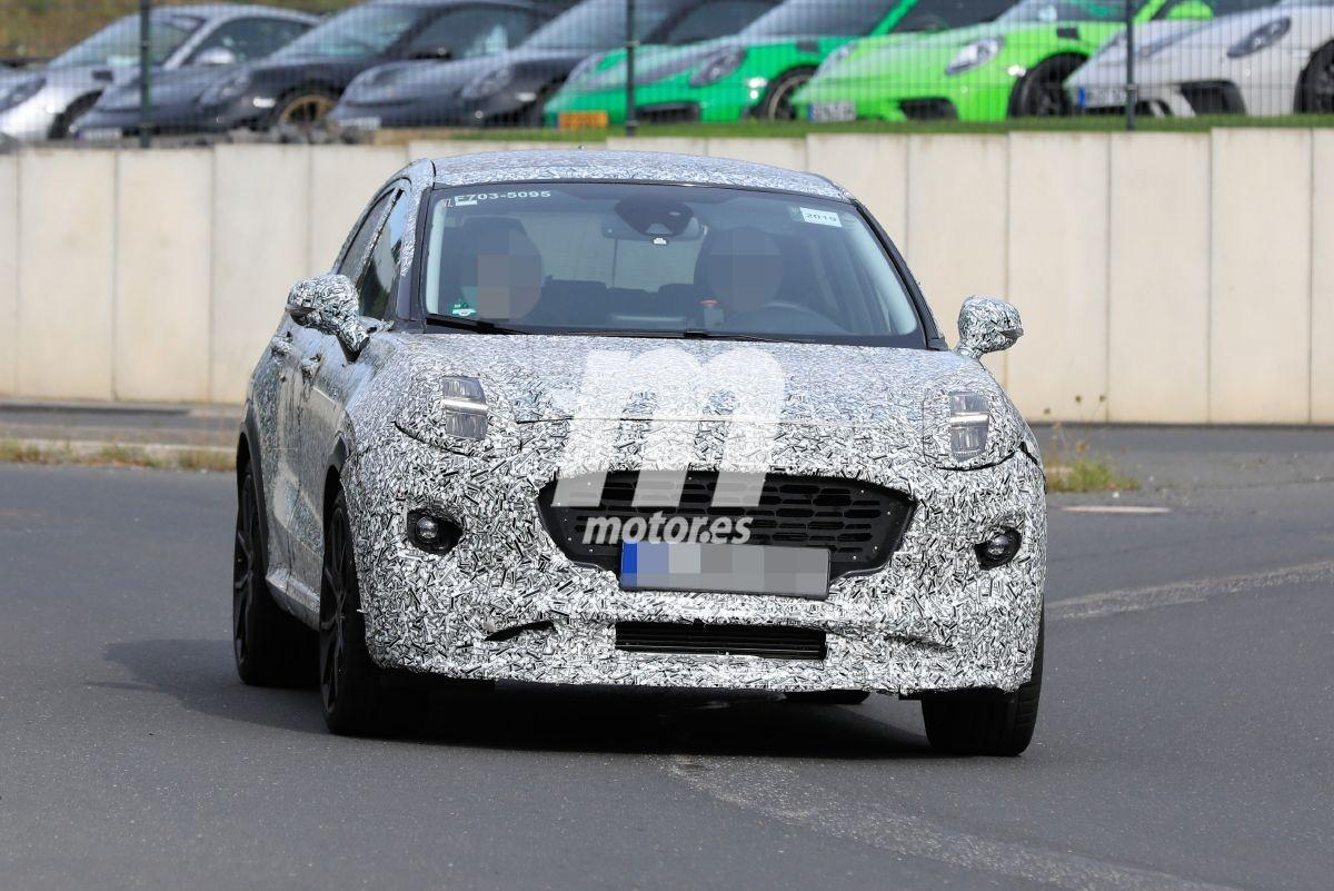 El nuevo Ford Puma ST 2020 vuelve a dejarse ver en las inmediaciones de Nürburgring