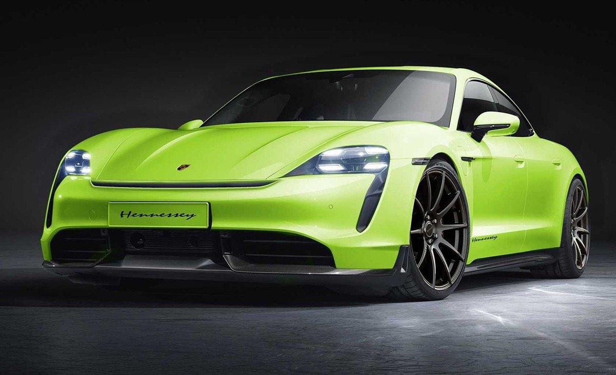 Hennessey Performance modificará el nuevo Porsche Taycan
