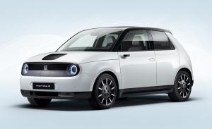 Honda e, así luce la versión de producción de este peculiar coche eléctrico
