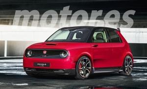 Honda e Type R, imaginando una versión radical y deportiva