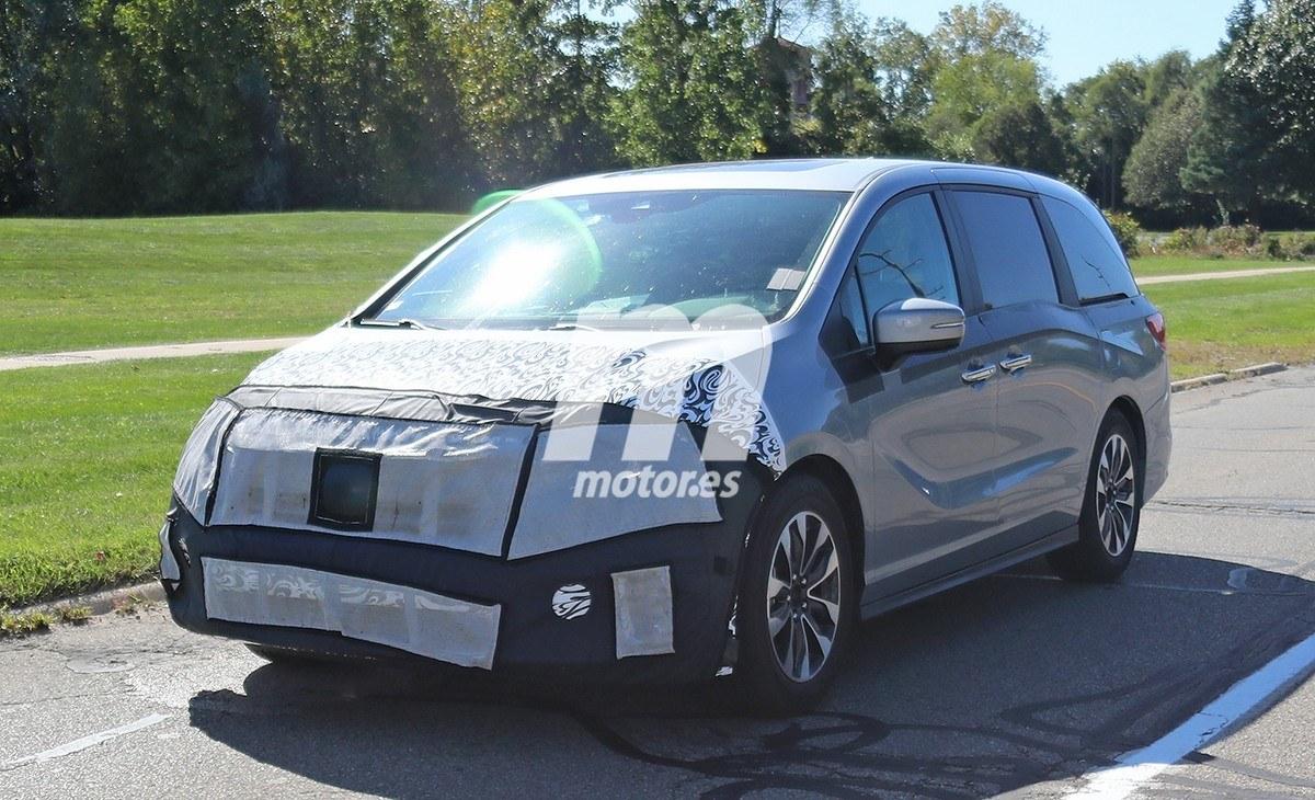 El Honda Odyssey sufrirá un importante lavado de cara