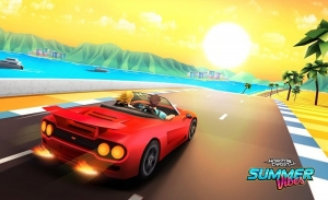 Summer Vibes, el primer DLC de Horizon Chase Turbo, ya está disponible