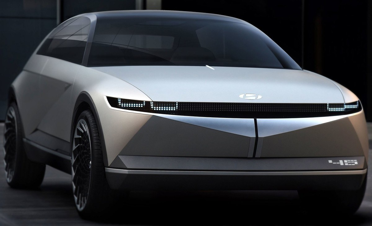 Hyundai 45 Concept, vislumbrando un futuro centrado en la electrificación