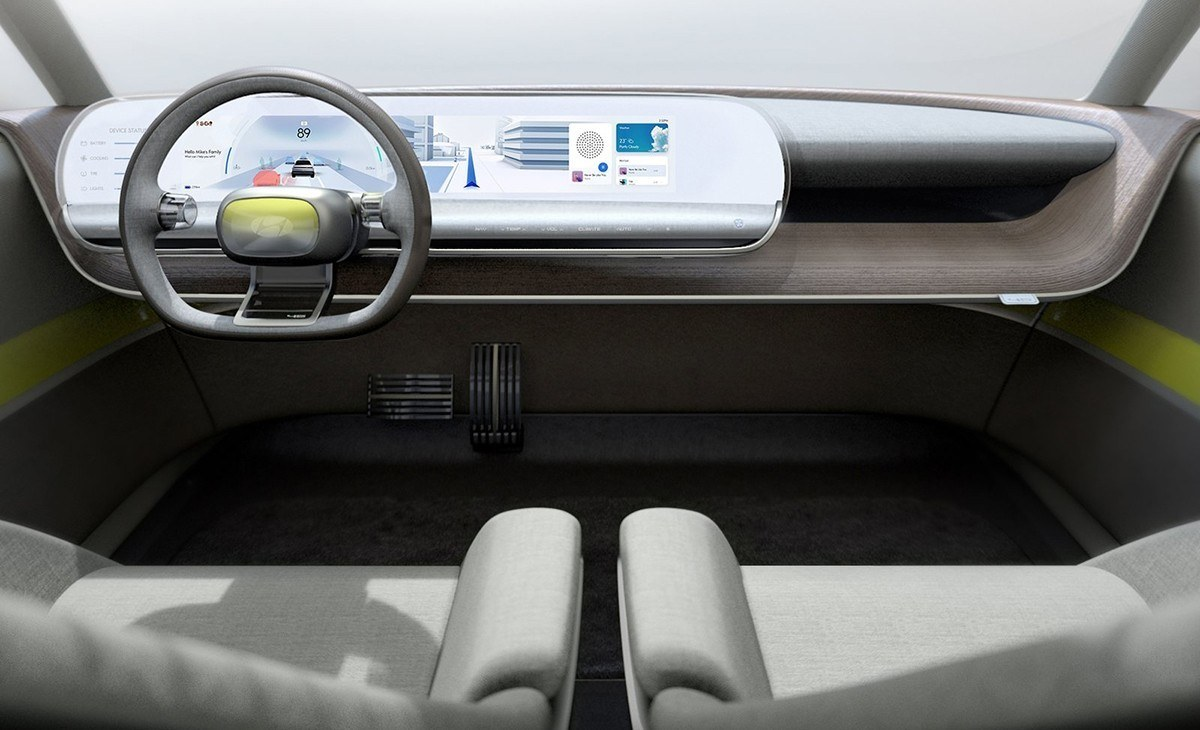 Hyundai 45 EV Concept - interior