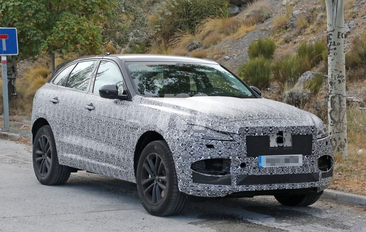 Jaguar ya está desarrollando la actualización del F-Pace