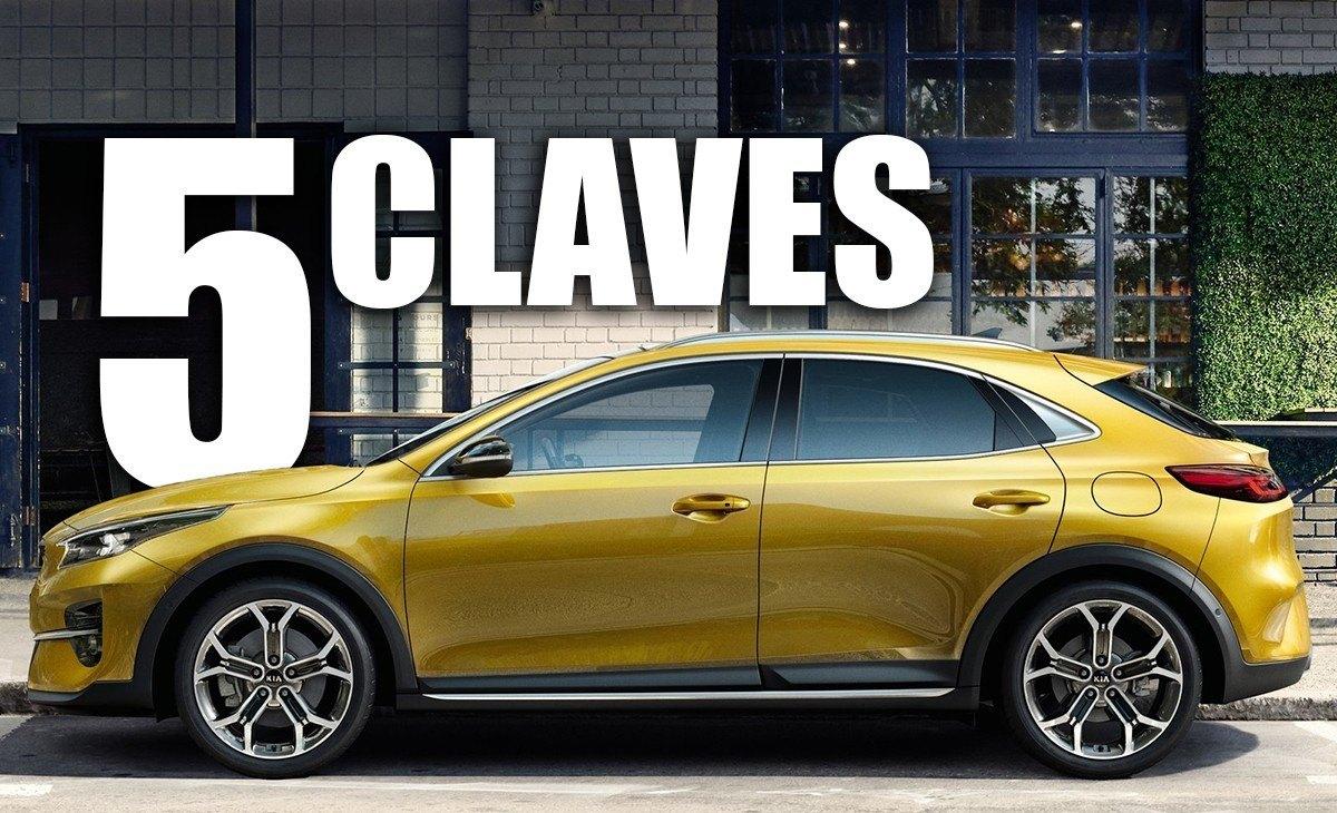 Las 5 claves del Kia XCeed, un nuevo crossover compacto