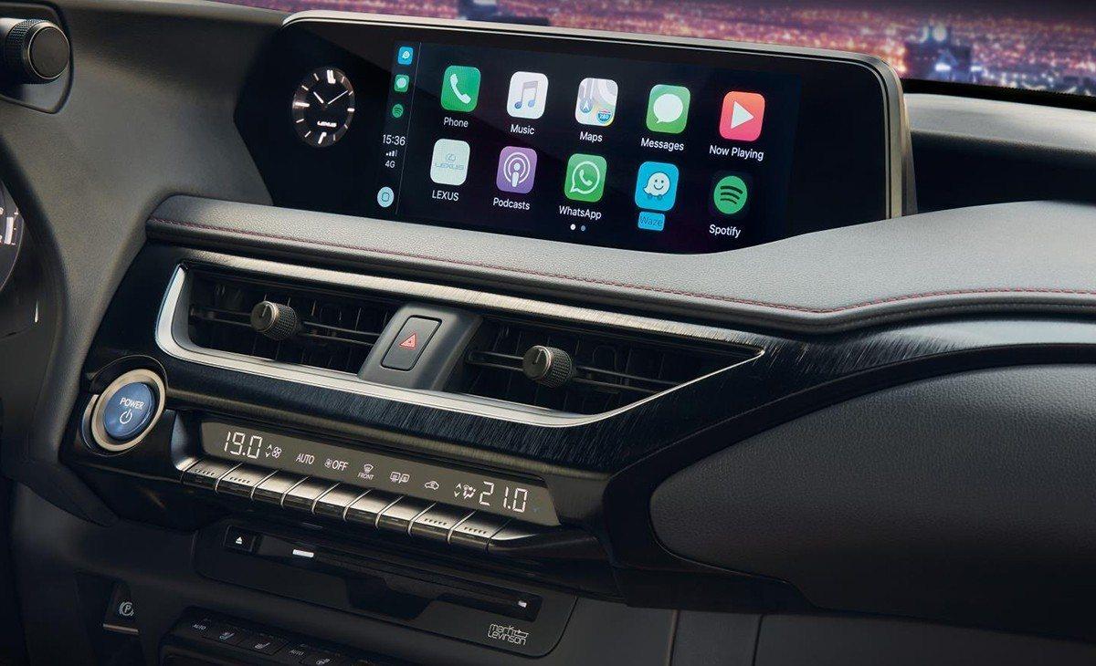 Lexus equipará Apple CarPlay y Android Auto en sus vehículos en España