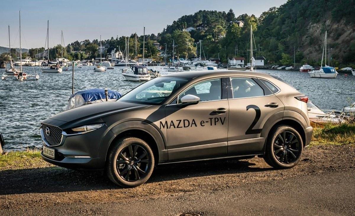 Mazda e-TPV, el nuevo coche eléctrico japonés llegará en 2020