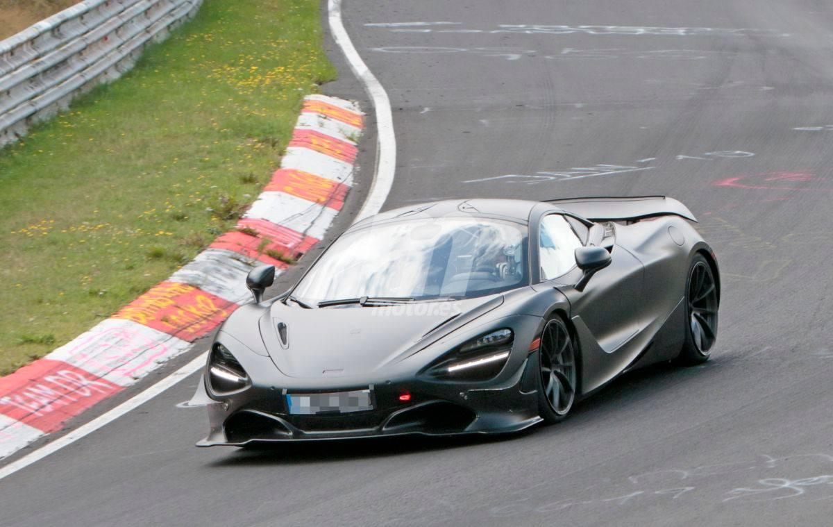 Los prototipos del McLaren 750LT se enfrentan a las curvas de Nürburgring