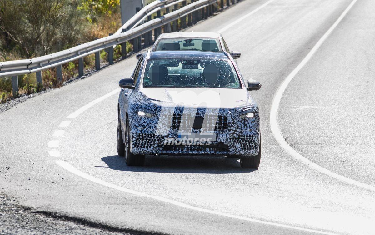 Cazan la nueva generación del Mercedes-AMG GLA 45 4MATIC 2021