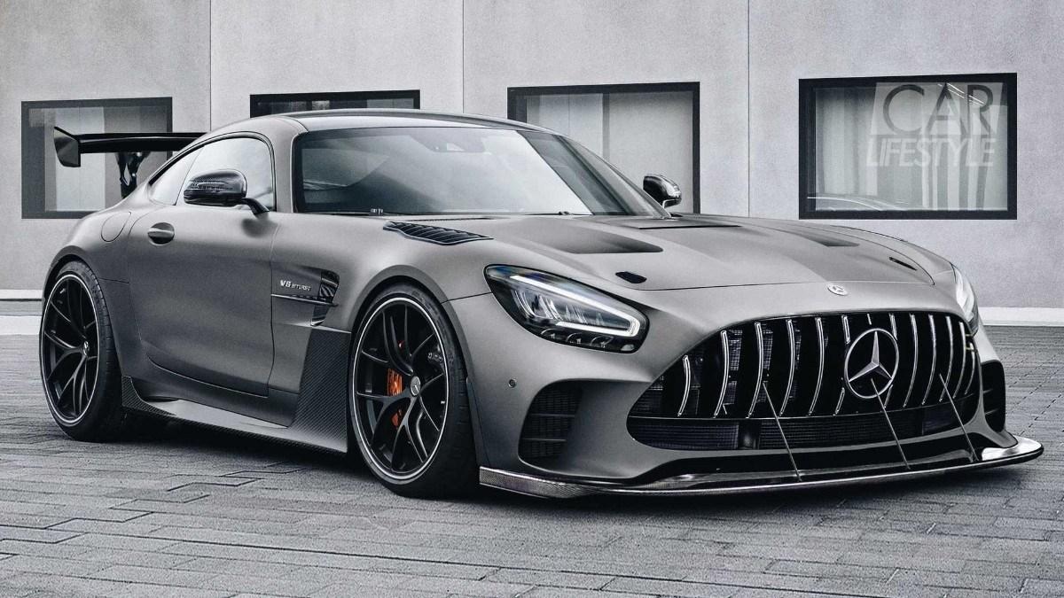 Este es el aspecto del nuevo Mercedes-AMG GT Black Series sin camuflaje