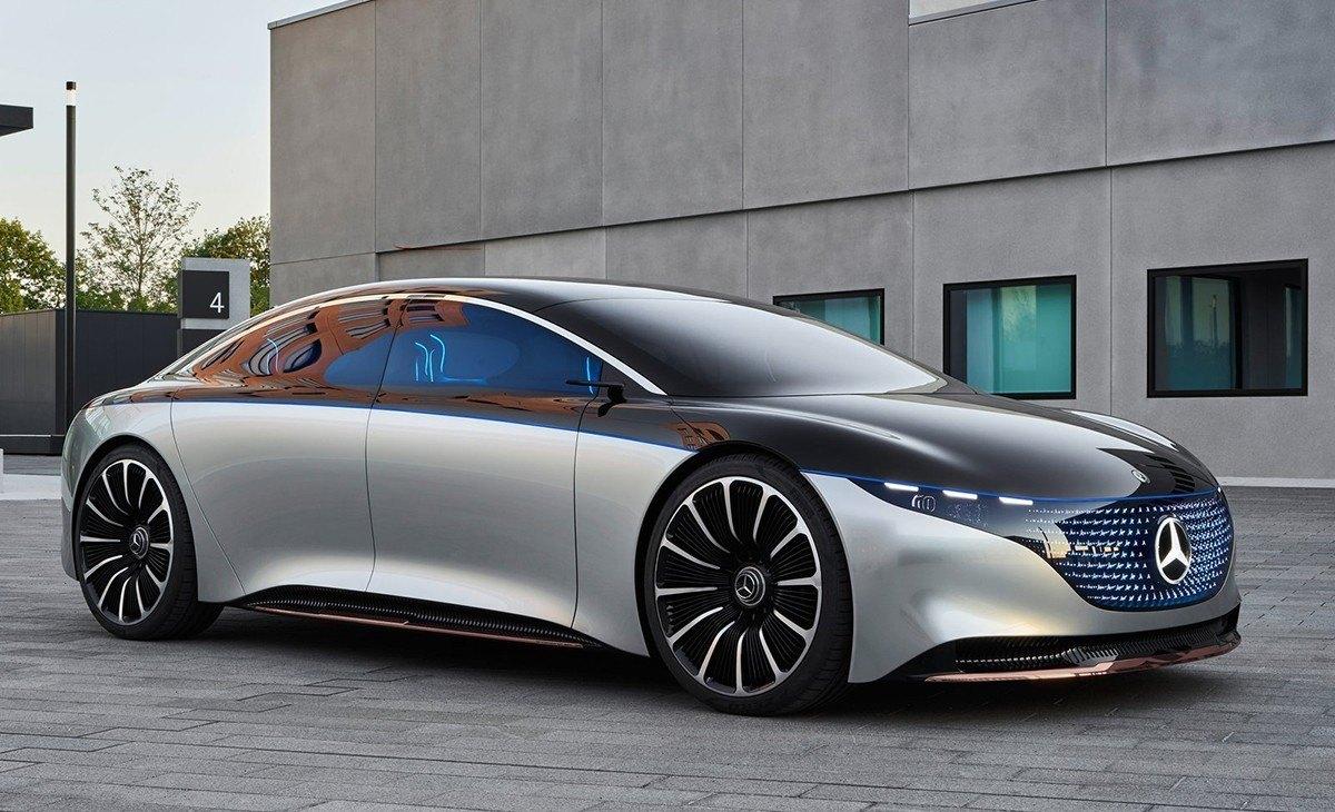 Mercedes Vision EQS, la antesala de una berlina de lujo 100% eléctrica