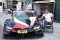 Alex Zanardi, piloto de BMW en el evento conjunto del DTM y Súper GT