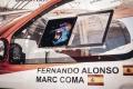 Fernando Alonso debuta en la Lichtenburg 400 con Marc Coma de copiloto