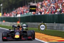 Albon le da la única alegría a Red Bull en Spa tras el accidente de Verstappen