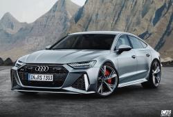 Así de agresivo es el Audi RS 7 que vamos a ver en unos días