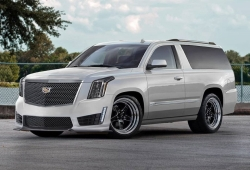 Un tuner anuncia el desarrollo de un Cadillac Escalade coupe de 2 puertas