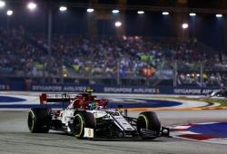 Diez segundos de sanción para Giovinazzi, que mantiene la 10º posición