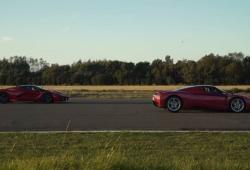 Drag race: Ferrari Enzo vs. Ferrari LaFerrari [vídeo]