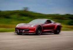 El Corvette Genovation GXE de nuevo el eléctrico más rápido del mundo