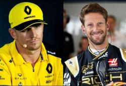 Haas duda, ¿lo malo conocido o lo bueno por conocer?: Grosjean vs. Hülkenberg