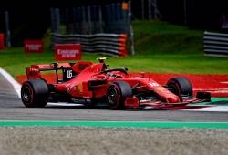 Leclerc no necesita rebufos para marcar la pole en Monza