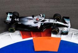 Hamilton culmina un doblete de Mercedes, que mantiene su reinado en Sochi