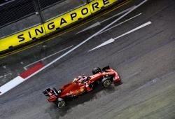 Leclerc avisa a Hamilton con el mejor tiempo antes de la clasificación
