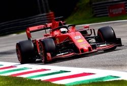 Vettel mantiene el dominio para Ferrari antes de la clasificación