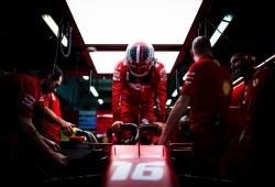"""Leclerc, preocupado por los rebufos: """"No sé si es el mejor circuito para tener la pole"""""""
