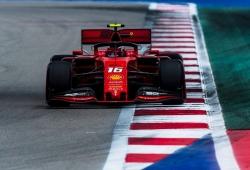 Ferrari deja atrás a los Mercedes antes de la clasificación de Sochi