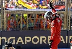 Con dos pilotos sancionados, así queda la parrilla del GP de Singapur