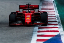 La pérdida de aislamiento eléctrico impidió a Vettel llegar al pit-lane
