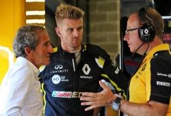 """Prost: """"Le ofrecimos a Hülkenberg un año, quiso dos. Necesitamos más frescura"""""""