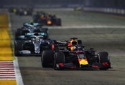 """Red Bull vuelve al podio en una carrera a contrapié: """"A ratos parecía una procesión"""""""