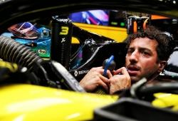 Ricciardo, excluido de la clasificación por exceder la potencia en su MGU-K
