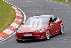 """El Tesla Model S P100D """"Plaid"""" a fondo en Nürburgring [vídeo]"""