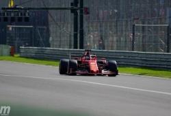 """Vettel sale perjudicado con los rebufos: """"Era mi turno, pero no he llegado"""""""