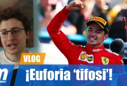 [Vídeo] ¡Euforia 'tifosi' en Italia!