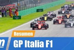 [Vídeo] Resumen del GP de Italia de F1 2019