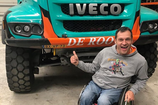 Albert Llovera disputará el Dakar 2020 con un Iveco del equipo De Rooy