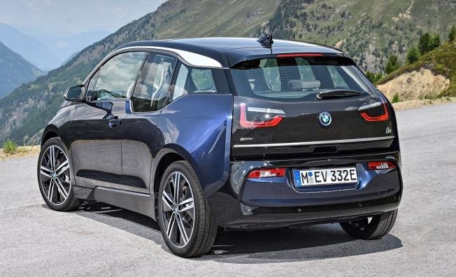 BMW i3 - posterior