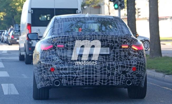 BMW Serie 4 Gran Coupé 2021 - foto espía posterior