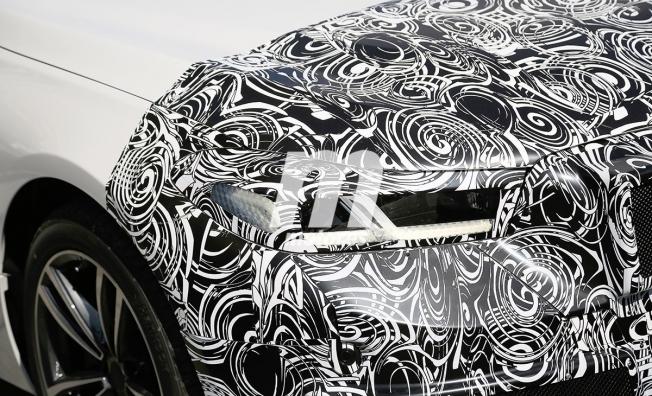 BMW Serie 6 GT 2020 - foto espía frontal