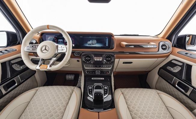 Brabus G V12 900 - interior