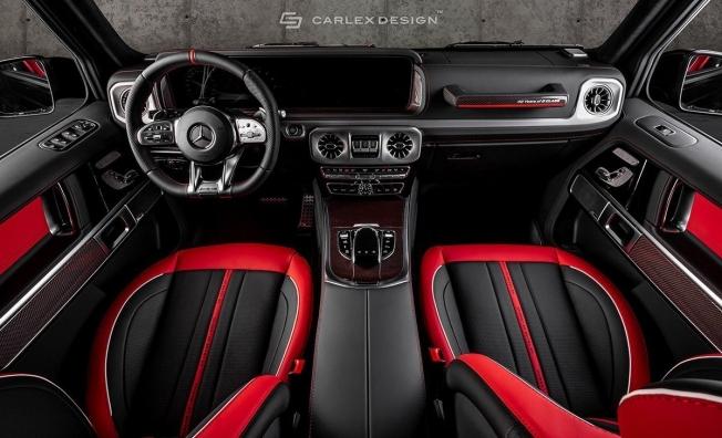 Mercedes Clase G modificado por Carlex Design