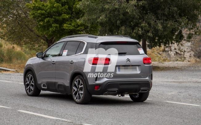Citroën C5 Aircross Hybrid - foto espía posterior