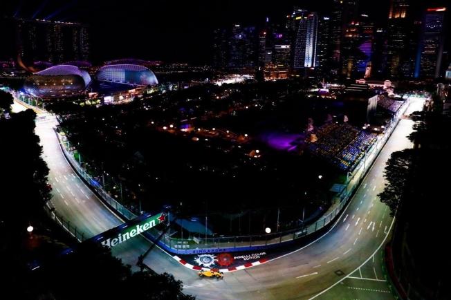 En directo los entrenamientos libres del GP de Singapur de F1 2019