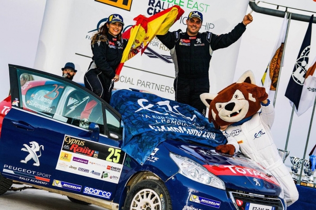 Efrén Llanera y Sara Fernández también ganan el título de ERC3